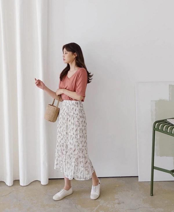 5 kiểu chân váy cứ diện cùng áo phông là đẹp mê, nàng lưu ngay để style thêm sành điệu - 13
