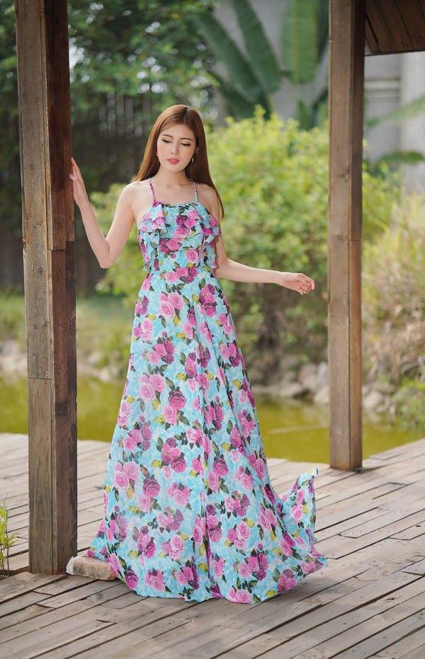 Diện váy dài vào ngày nắng, nàng chớ mắc những lỗi này kẻo vừa quê vừa dìm dáng - 8
