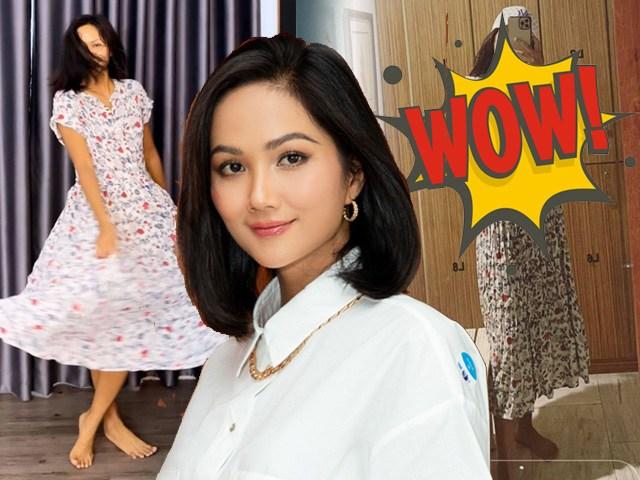 Thánh chế quần áo gọi tên HHen Niê, từ bộ đồ bùng nhùng cũng biến thành hot item mùa hè