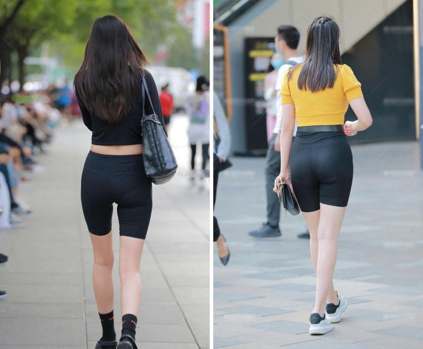 Hè đến, mốt diện biker shorts lên ngôi nhưng diện sao để tránh lộ amp;#34;vùng cấmamp;#34;? - 4