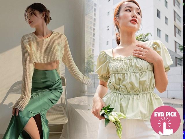 Eva Pick: Mách nàng 10 outfit mang tông xanh lá hot nhất Hè này, chọn đồđơn giản vẫn lung linh