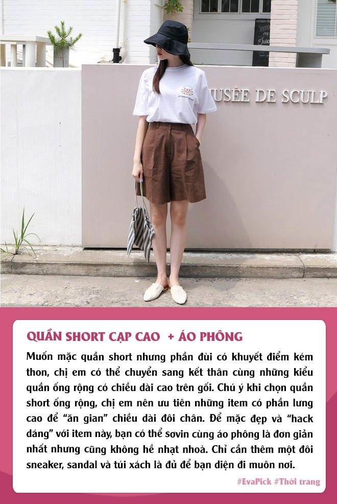 Eva Pick: 9 cách diện quần short amp;#34;kéo chânamp;#34;, mặc đi làm hay đi chơi vừa đẹp vừa mát - 4