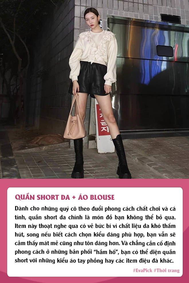 Eva Pick: 9 cách diện quần short amp;#34;kéo chânamp;#34;, mặc đi làm hay đi chơi vừa đẹp vừa mát - 8
