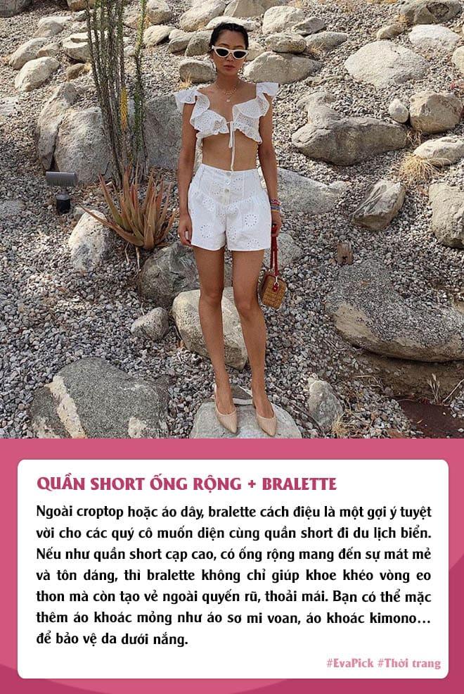 Eva Pick: 9 cách diện quần short amp;#34;kéo chânamp;#34;, mặc đi làm hay đi chơi vừa đẹp vừa mát - 10