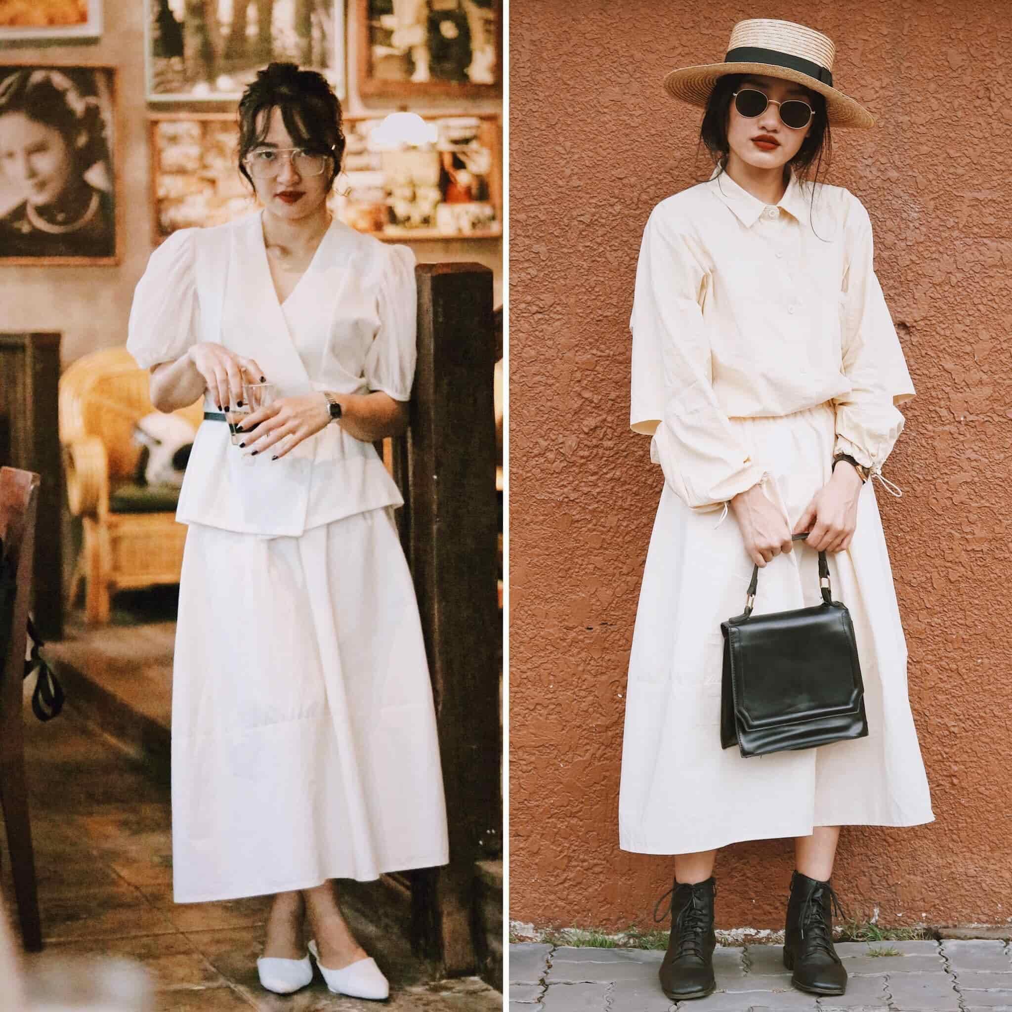 Mượn đồ chị mặc, cô em U30 biến hoá sành điệu: Bật mí chiêu tiết kiệm mua 1 mặc 2 - 13
