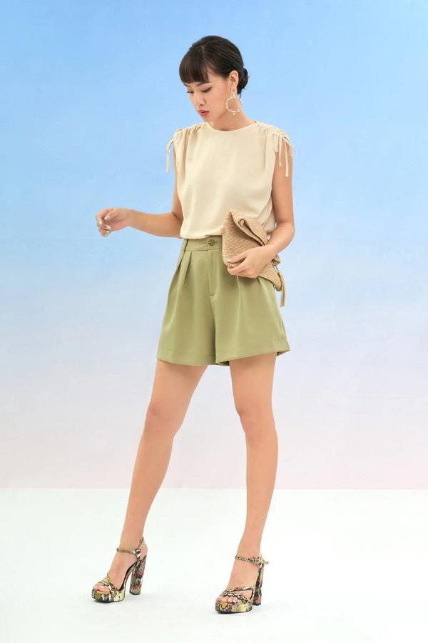 Diện quần short mà muốn trông cao và gầy, đây là vài bí quyết nàng nên áp dụng ngay - 1