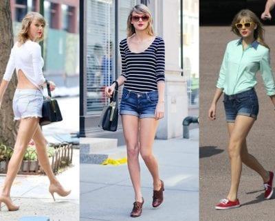 Quần Short thường được may bằng vải Jeans