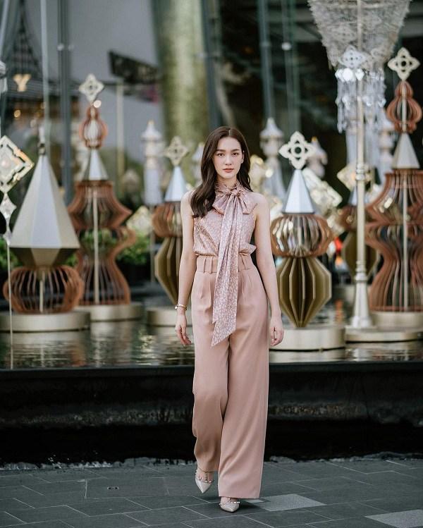 Hội gái Thái là cao thủ diện quần ống rộng, phối theo phong cách nào cũng đẹp đỉnh - 9