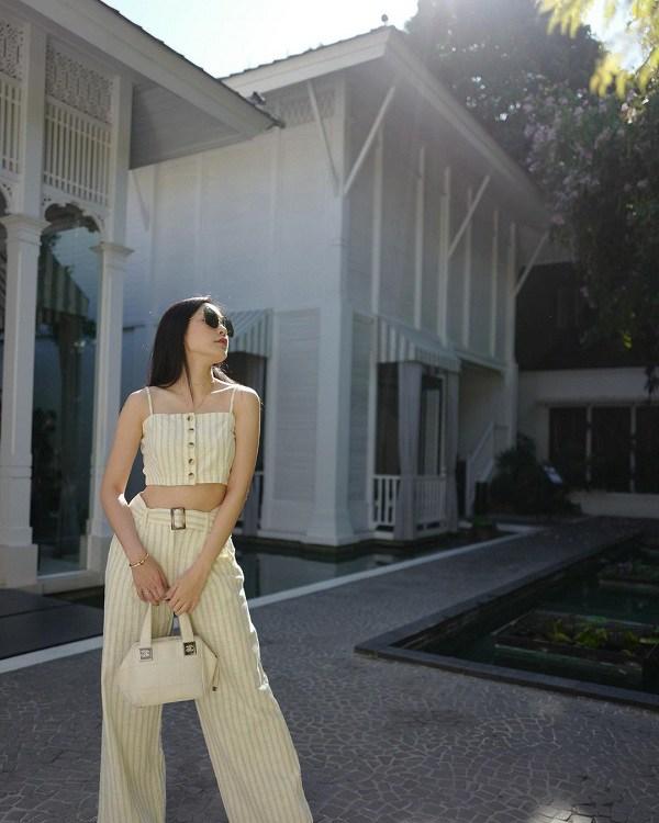 Hội gái Thái là cao thủ diện quần ống rộng, phối theo phong cách nào cũng đẹp đỉnh - 10