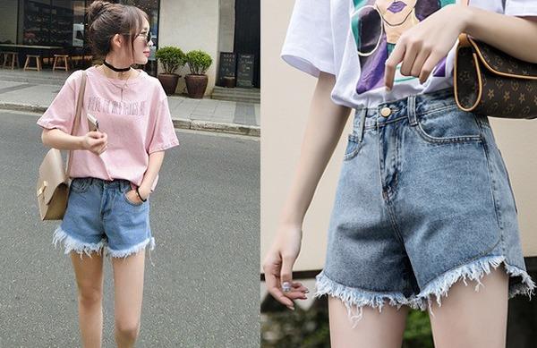 Ở nhà mua sắm online, nàng đừng chốt đơn mấy kiểu quần short jeans này kẻo bị chê mặc xấu - 1