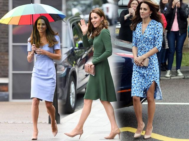 Kiểu giày được công nương Kate yêu thích: diện lên vừa hack dáng lại chuẩn thanh lịch, quý phái