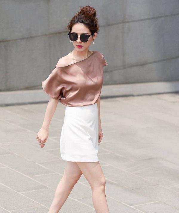 Chỉ mất hơn trăm nghìn mua một chiếc chân váy trắng, nàng tha hồ phối nhiều set đồ sang xịn - 11