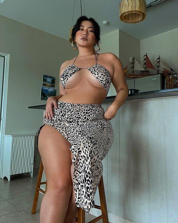 Cô nàng mập ú chứng minh béo vẫn có thể mặc đẹp ngút ngàn - 11