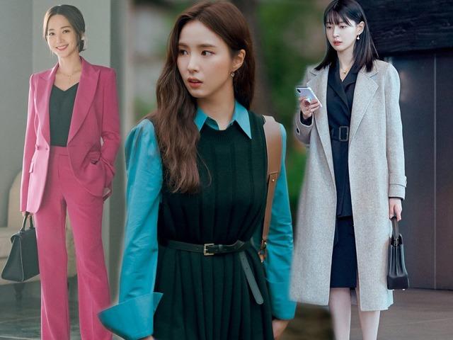 Chẳng muốn style đi làm mãi nhạt nhoà, nàng lưu ngay 10 outfit công sở đẹp mê từ phim Hàn
