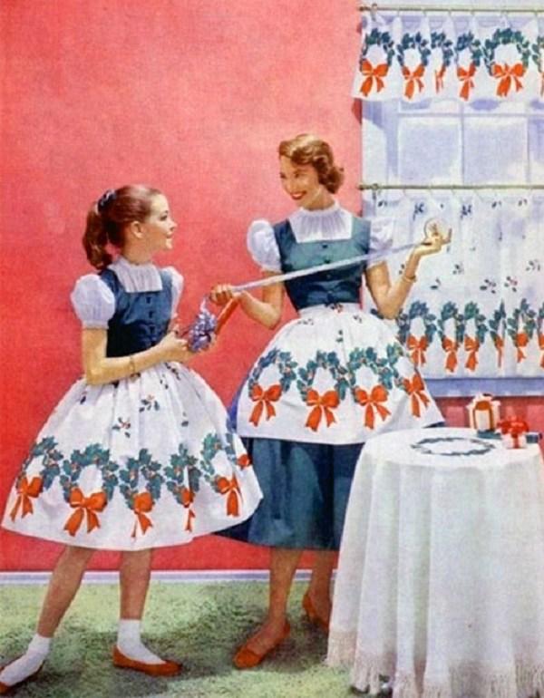 Trào lưu mặc đồ đôi cùng con đã có từ xưa, đẹp đến độ mẹ bỉm hiện đại bái phục - 5