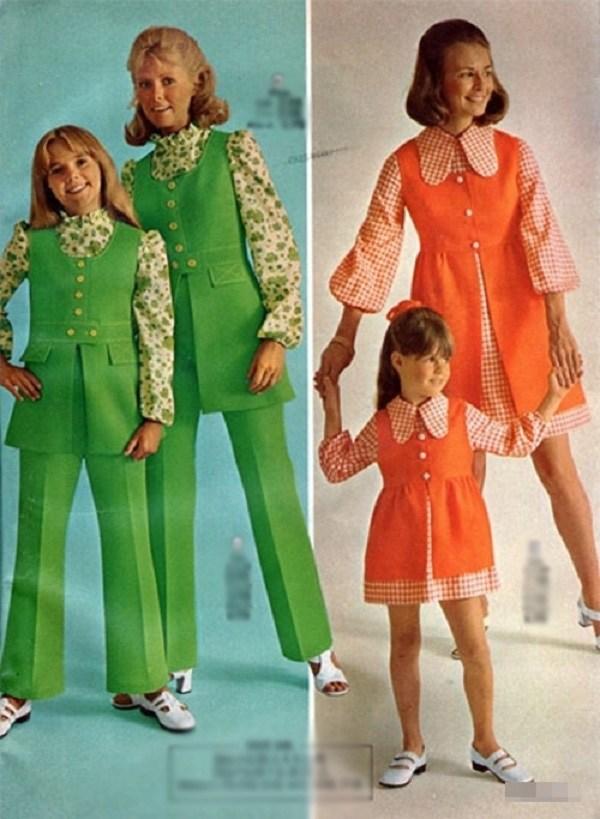 Trào lưu mặc đồ đôi cùng con đã có từ xưa, đẹp đến độ mẹ bỉm hiện đại bái phục - 6