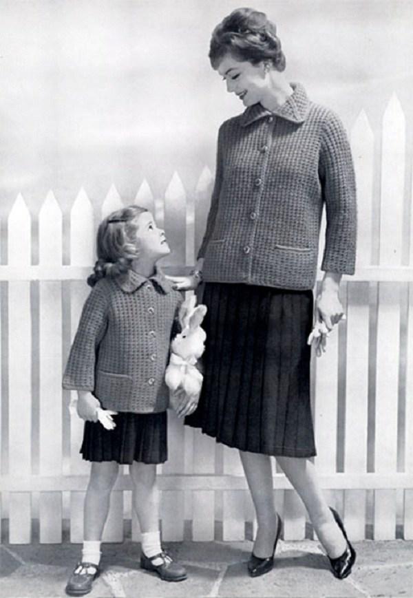 Trào lưu mặc đồ đôi cùng con đã có từ xưa, đẹp đến độ mẹ bỉm hiện đại bái phục - 7