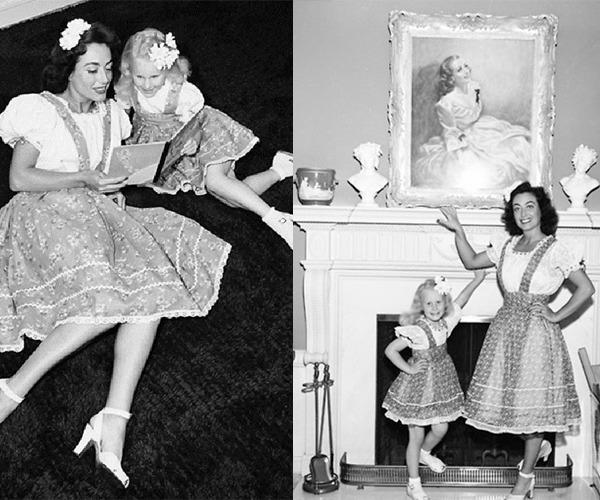 Trào lưu mặc đồ đôi cùng con đã có từ xưa, đẹp đến độ mẹ bỉm hiện đại bái phục - 8