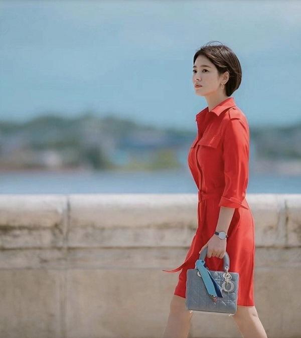 4 mẫu váy được lăng xê nhiều nhất trong phim Hàn, ai mặc lên cũng đẹp mê - 4