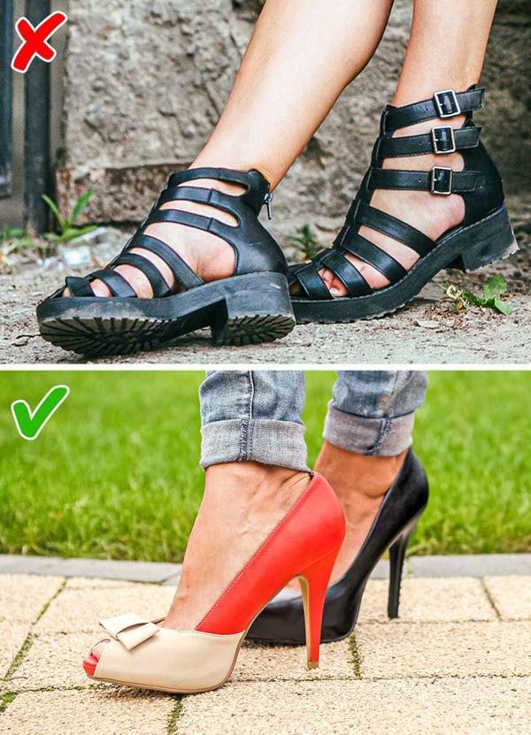 7 kiểu giày khiến chân bạn trông thô kệch, ngắn ngủn - 3