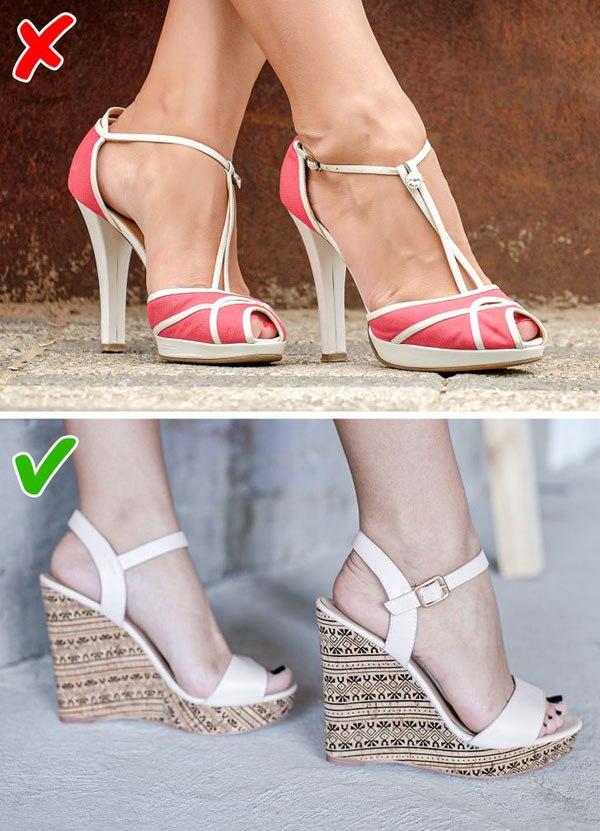 7 kiểu giày khiến chân bạn trông thô kệch, ngắn ngủn - 4