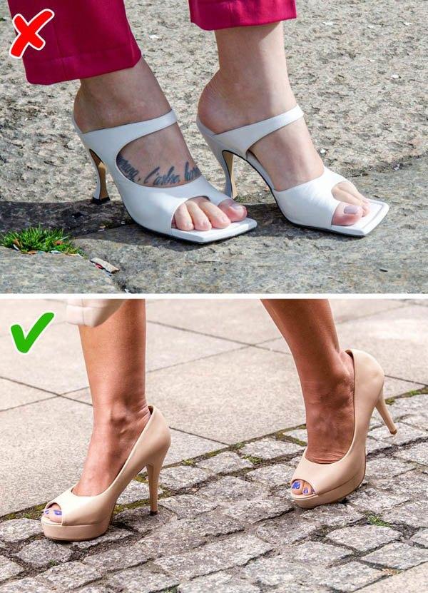 7 kiểu giày khiến chân bạn trông thô kệch, ngắn ngủn - 5