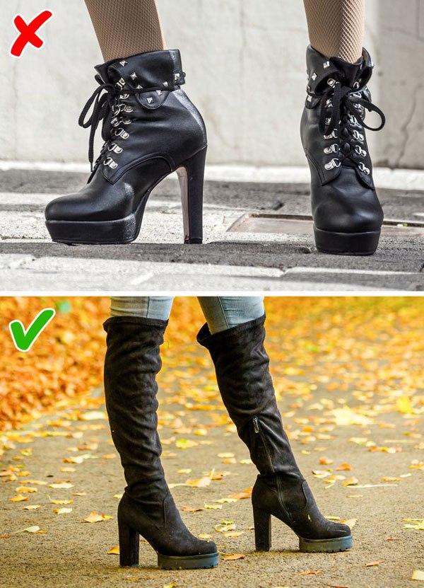 7 kiểu giày khiến chân bạn trông thô kệch, ngắn ngủn - 6