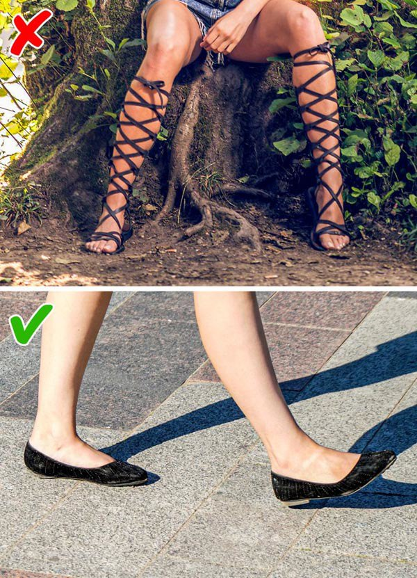 7 kiểu giày khiến chân bạn trông thô kệch, ngắn ngủn - 7