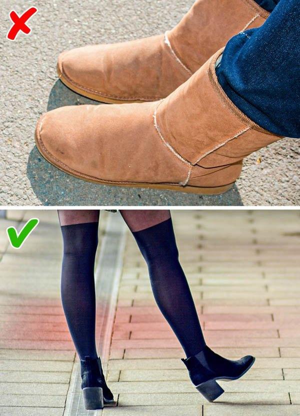 7 kiểu giày khiến chân bạn trông thô kệch, ngắn ngủn - 8