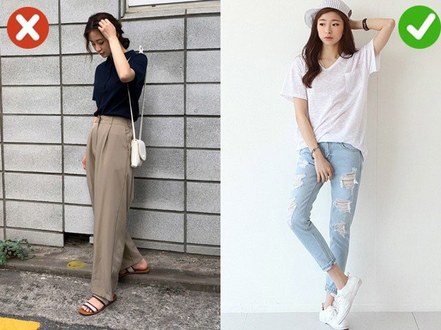 6 kiểu trang phục làm chị em như được... cộng thêm tuổi