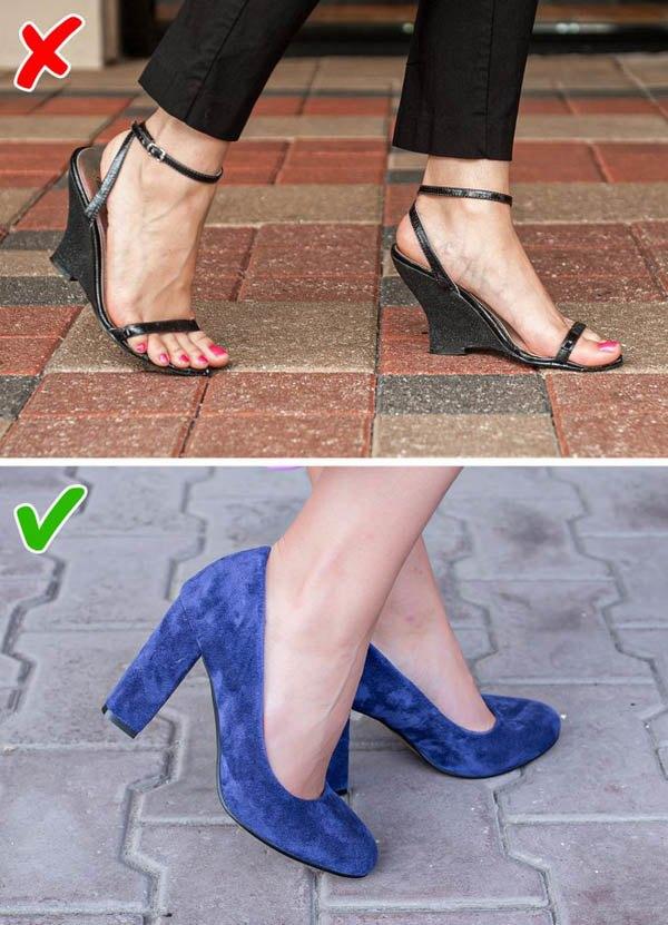 7 kiểu giày khiến chân bạn trông thô kệch, ngắn ngủn - 1