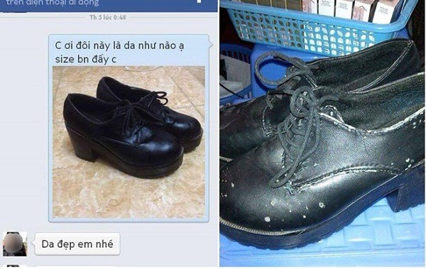 """Tưởng mua giày dép qua mạng là yên tâm, ai ngờ chị em cũng nhiều phen """"cười ra nước mắt"""" - 1"""